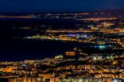Costa Marbellí nocturna.