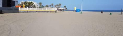 Estado actual de la Playa del Cable, Marbella