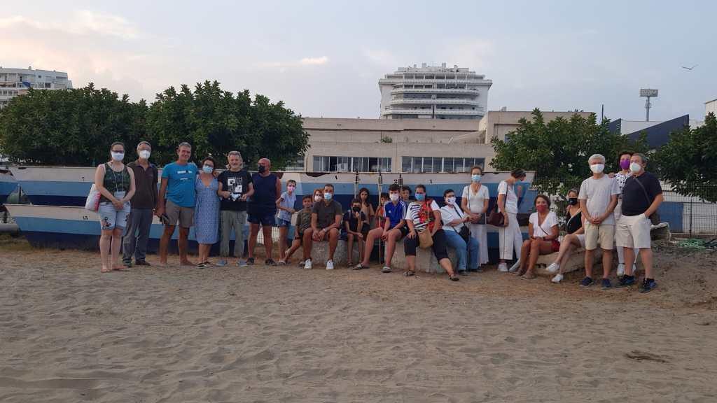 Reivindicación uso público de la playa.